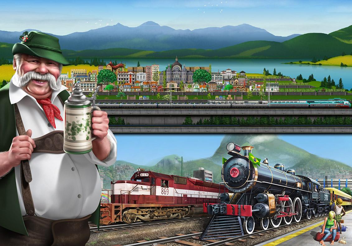 TrainStation - Pixel Federation Games