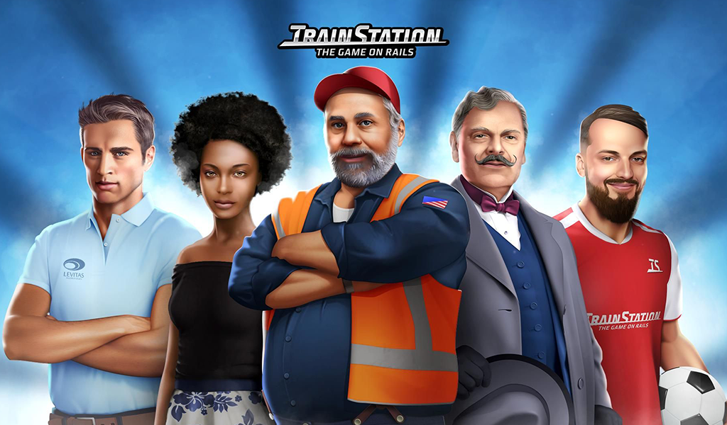 Trainstation Wallpaper